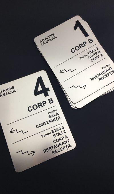gravura signalistica personalizata