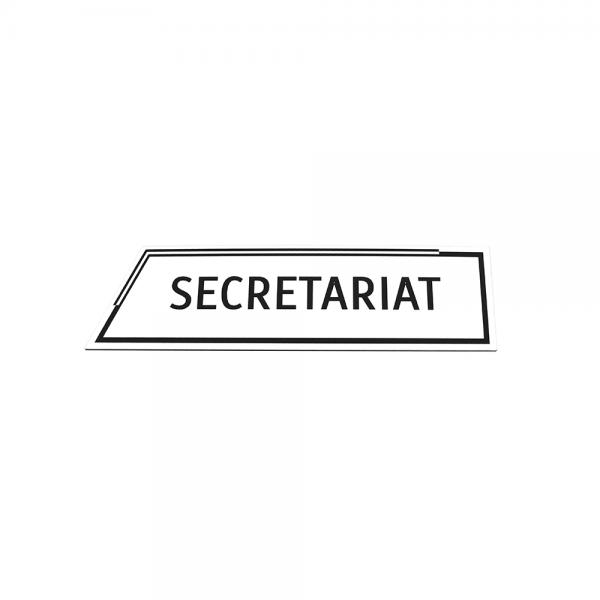 Placa Secretariat Argintie Diversitas Group Romania